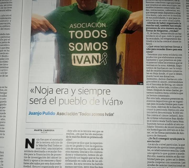 Entrevista en el Diario Montañés.