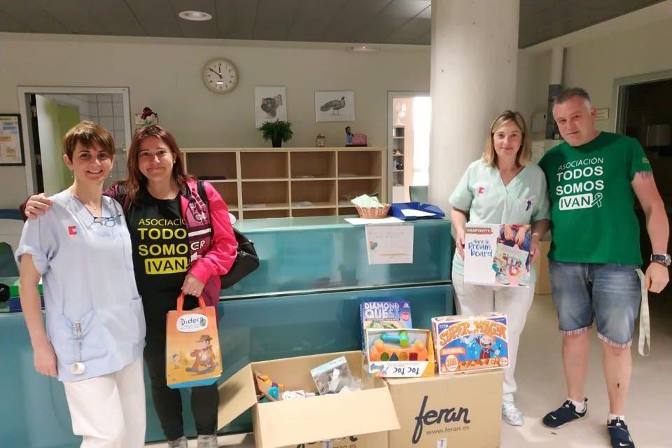 Donación en centro hospitalario Valdecilla.