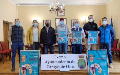 San Silvestre virtual y a beneficio de la investigación del Sarcoma de Erwing, en Cangas de Onís